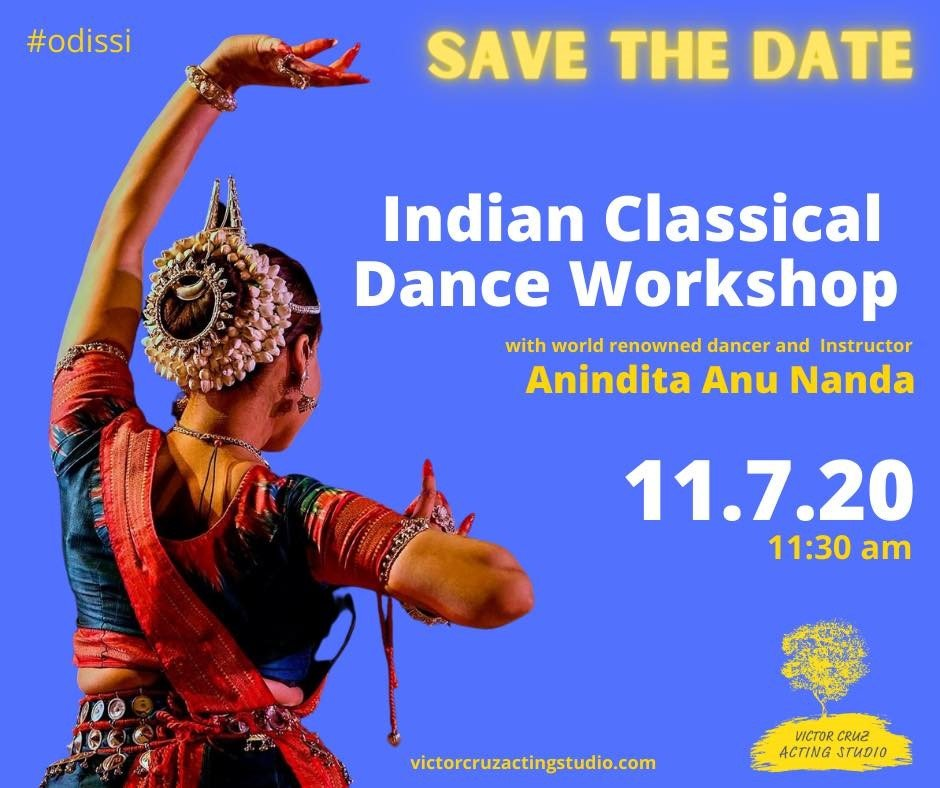 classical indian dance workshop